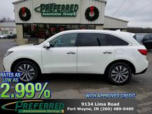2016_Acura_MDX_w/Tech_ Fort Wayne Auburn and Kendallville IN