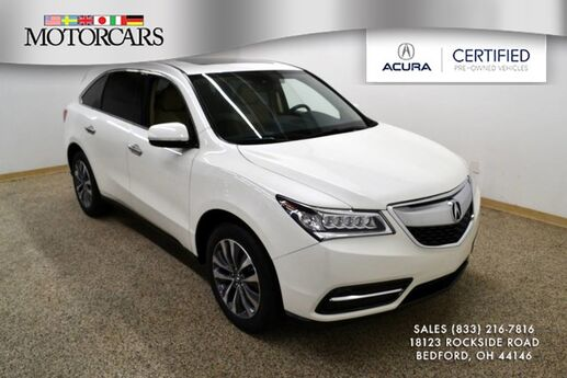 2016 Acura MDX w/Tech Navigation Bedford OH
