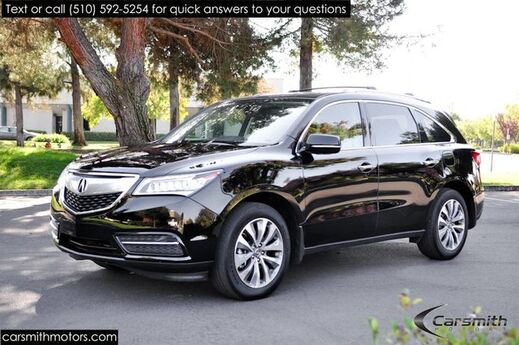 2016 Acura MDX w/Tech Pack, 3rd Row, & CPO Certified! Fremont CA