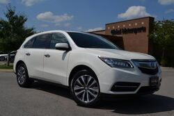 Acura MDX w/Tech Pkg/All Wheel Drive/Blind Spot Monitor/Lane Departure Warning/Navigation/Rear View Cam/Heated Leather/3rd Row Seating/Satellite Radio/Bluetooth/Sunroof 2016