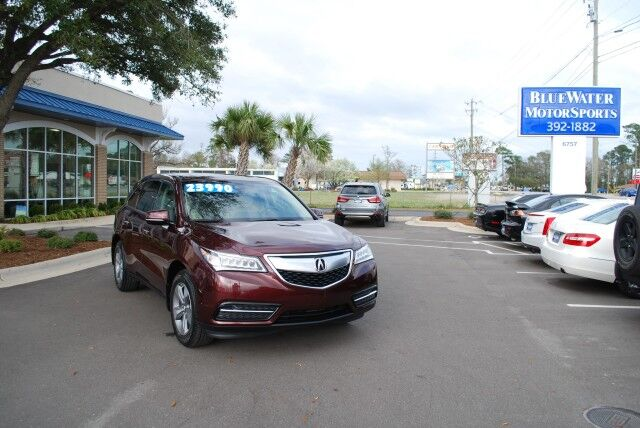 2016 Acura MDX w/Tech Wilmington NC