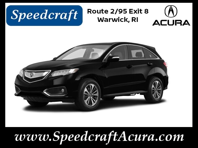 2016 Acura RDX AWD with Advance Package Wakefield RI