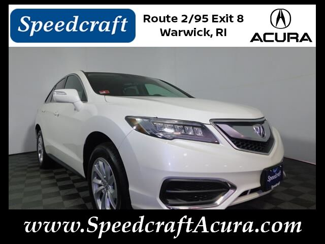 2016 Acura RDX AWD with Technology and AcuraWatch Plus Packages Wakefield RI