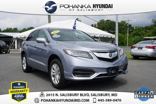 2016_Acura_RDX_Base **ONE OWNER**LEATHER**BACK UP CAM**NICE**_ Salisbury MD