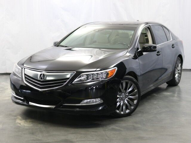 2016 Acura RLX Tech Pkg / 3.5L V6 Engine / AWD / Sunroof / Navigation / Heated Leather Seats / Bluetooth / Rear View Camera / Blind Spot Detection / ELS Sound System Addison IL