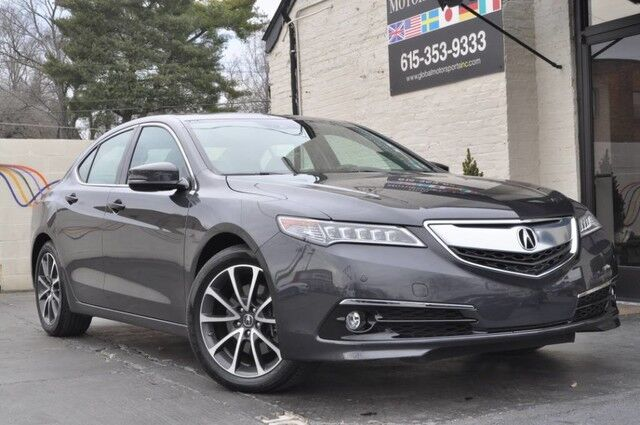 2016 Acura TLX Advance SH AWD/3.5L V6/Blind Spot Monitor/Lane Departure Warning/Navigation/Heated&Cooled Seats/Rear View Camera/ Pwr Sunroof Nashville TN
