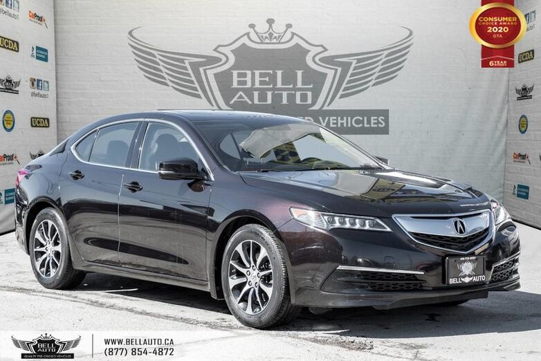 2016 Acura TLX Tech, NO ACCIDENT, NAVI, REAR CAM, B.SPOT, SUNROOF Toronto ON
