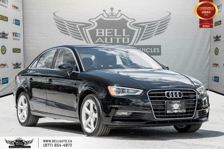 2016 Audi A3 1.8T Komfort, NO ACCIDENT, SUNROOF, BLUETOOTH Toronto ON