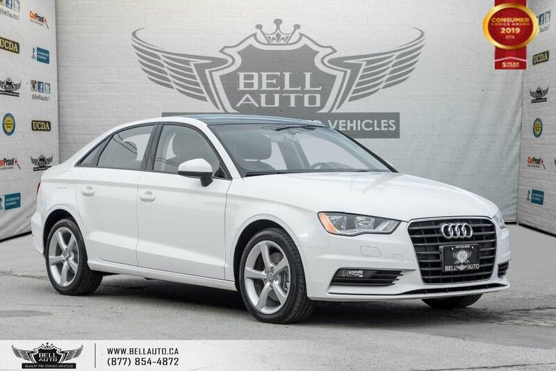 2016 Audi A3 1.8T Komfort, NO ACCIDENT, SUNROOF, HEATED SEATS, LEATHER, SOLD Toronto ON