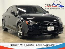 2016_Audi_A3_1.8T PREMIUM STYLE PKG S LINE PANORAMA LEATHER HEATED SEATS REAR_ Carrollton TX