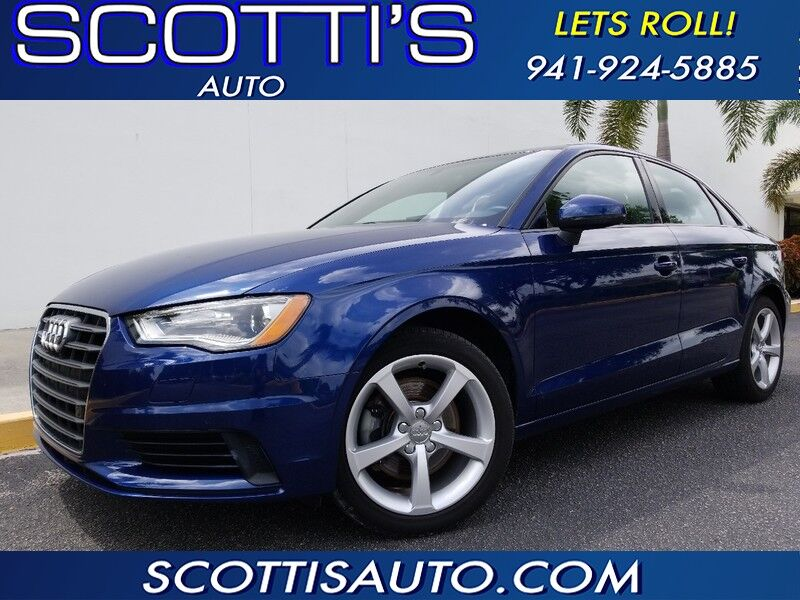 2016 Audi A3 1.8T Premium~ 1-OWNER~ CLEAN CARFAX~ LOW MILES~ GREAT COLORS~ FINANCE AVAILABLE!