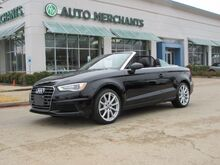 2016_Audi_A3_1.8T Premium Cabriolet,LEATHER SEATS, NAVIGATION, HEATED FRONT SEATS, REAR PARKING AID, BLUETOOTH_ Plano TX