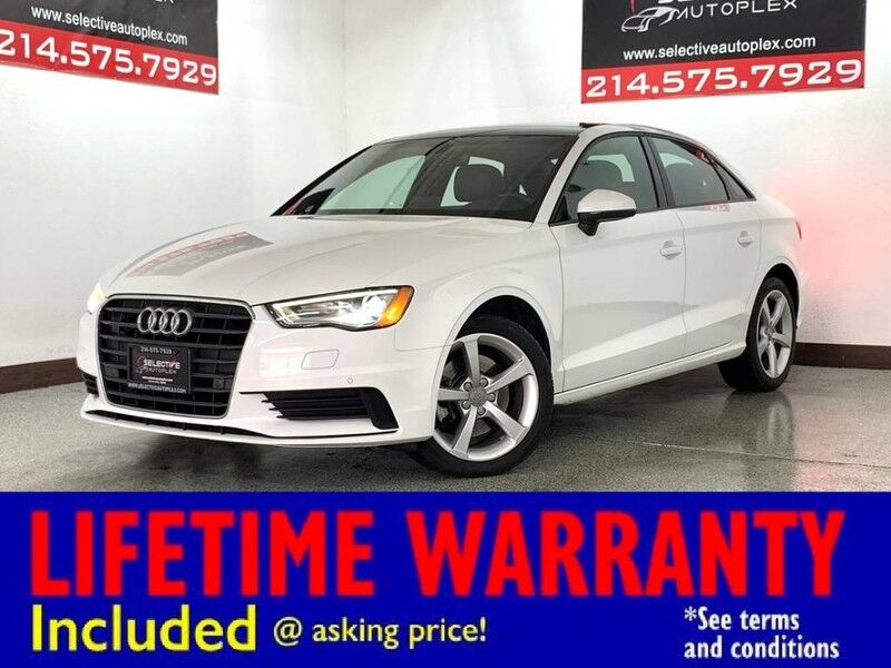 2016 Audi A3 1.8T Premium FWD, LEATHER SEATS, SUNROOF, REAR VIEW CAM