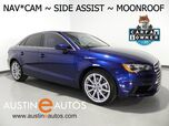 2016 Audi A3 1.8T Premium Plus *NAVIGATION, SIDE ASSIST, BACKUP-CAMERA, OVERSIZED MOONROOF, LEATHER, HEATED SEATS, ADVANCED KEY, BLUETOOTH
