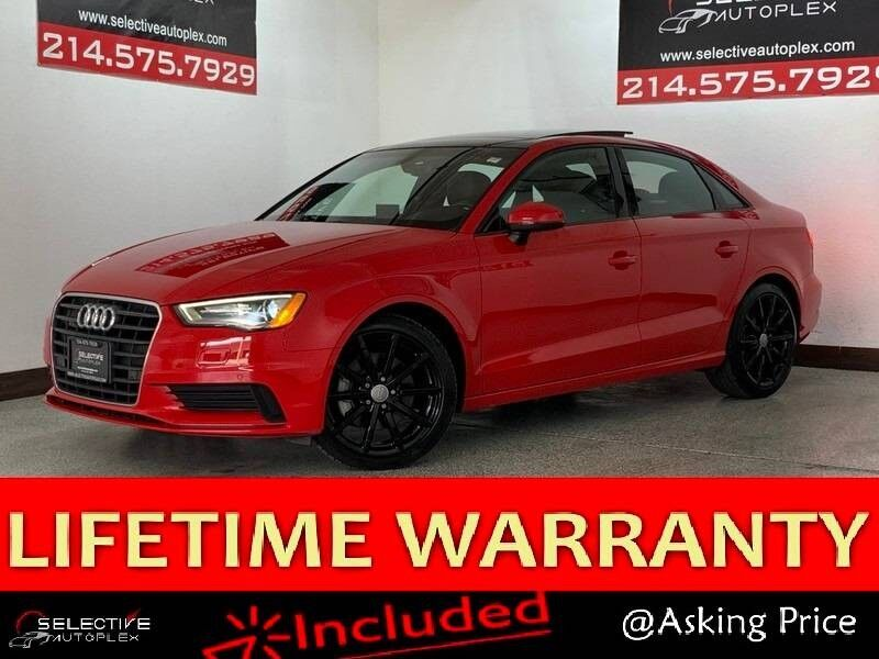 2016 Audi A3 1.8T Premium, REAR VIEW CAM, SUNROOF, HEATED FRONT SEATS Carrollton TX