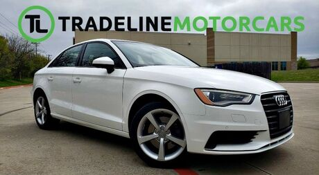 2016 Audi A3 1.8T Premium REAR VIEW CAMERA, SUNROOF, LEATHER, AND MUCH MORE!!! CARROLLTON TX