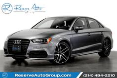 2016 Audi A3 1.8T Premium S-Line BlackOptic Pkg Moonroof 19 Alloys