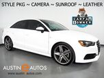 2016 Audi A3 1.8T Premium *STYLE PACKAGE, BACKUP-CAMERA, OVERSIZED MOONROOF, LEATHER, ADVANCED KEY, HEATED SEATS, BLUETOOTH PHONE& AUDIO