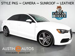 2016_Audi_A3 1.8T Premium_*STYLE PACKAGE, BACKUP-CAMERA, OVERSIZED MOONROOF, LEATHER, ADVANCED KEY, HEATED SEATS, BLUETOOTH PHONE& AUDIO_ Round Rock TX