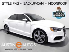 Audi A3 1.8T Premium *STYLE PACKAGE, BACKUP-CAMERA, PANORAMA MOONROOF, LEATHER, ADVANCED KEY, HEATED SEATS, 19 INCH ALLOYS, BLUETOOTH PHONE & AUDIO 2016