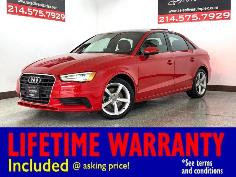 2016 Audi A3 1.8T Premium,LEATHER,SUNROOF,BACKUP CAMERA, NAV