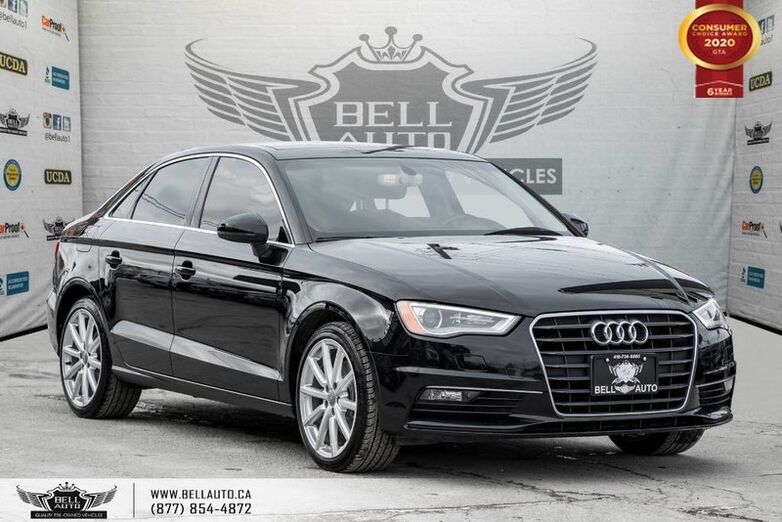 2016 Audi A3 1.8T Progressiv, S-LINE, PANO ROOF, LEATHER, BLUETOOTH Toronto ON