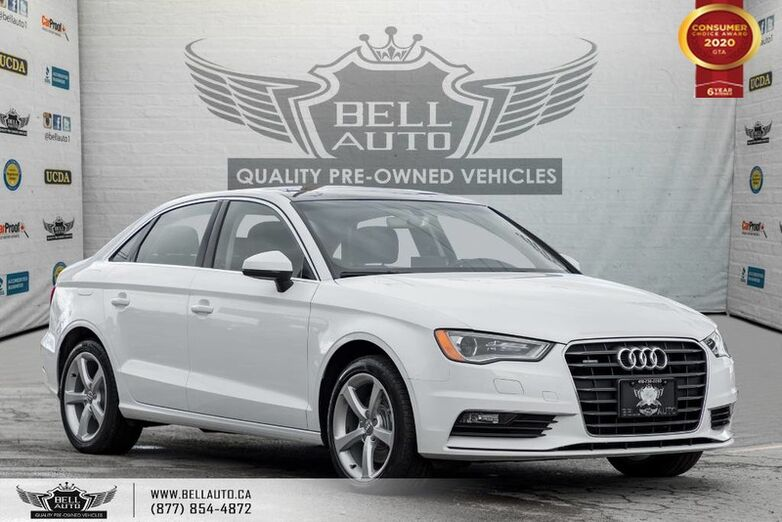 2016 Audi A3 2.0T Komfort, AWD, NO ACCIDENT, SUNROOF, LEATHER Toronto ON