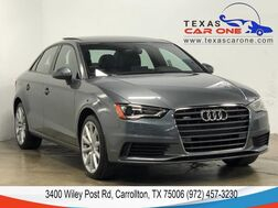 2016_Audi_A3_2.0T PREMIUM QUATTRO PANORAMA LEATHER HEATED SEATS REAR CAMERA B_ Carrollton TX