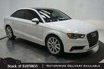 Audi A3 2.0T Premium CAM,PANO,HTD STS,18IN WLS,HID LIGHTS 2016