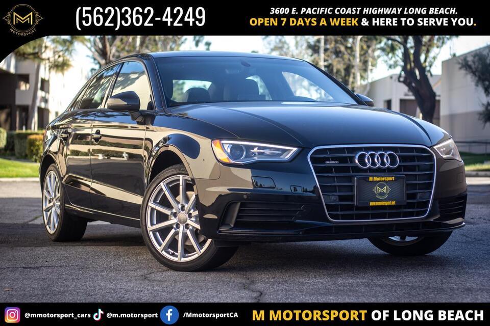 2016_Audi_A3_2.0T Premium Sedan 4D_ Long Beach CA
