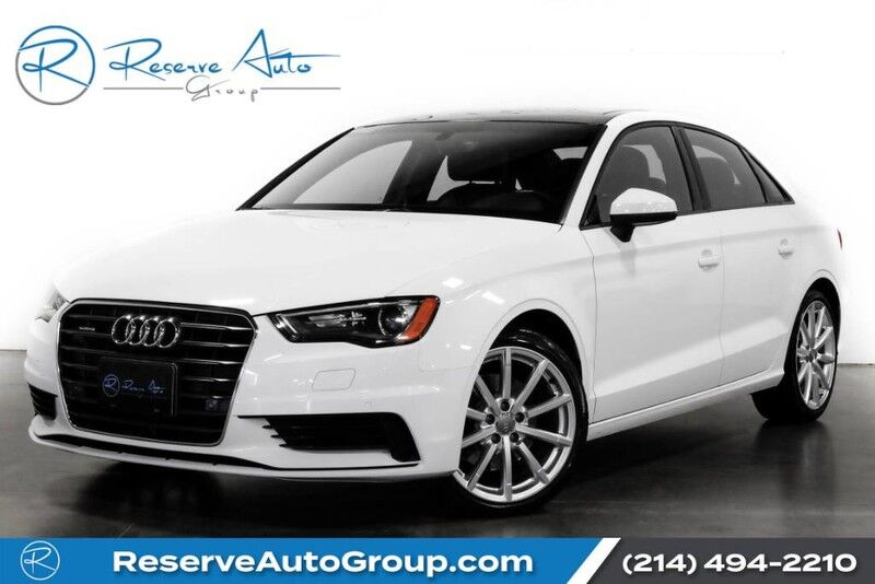 2016 Audi A3 2.0T Premium Sport Navigation Heated Seats The Colony TX