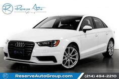 2016 Audi A3 2.0T Premium Sport Navigation Heated Seats