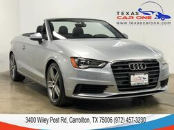 2016_Audi_A3 Cabriolet_2.0T PREMIUM PLUS QUATTRO TECHNOLOGY PKG NAVIGATION AUDI SIDE AS_ Carrollton TX