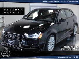 2016 Audi A3 e-tron Sportback Premium Heated Sts Back-Up Cam Pano