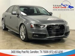 2016_Audi_A4_2.0T PREMIUM PLUS S LINE QUATTRO TECH PKG NAVIGATION BANG AND OL_ Carrollton TX