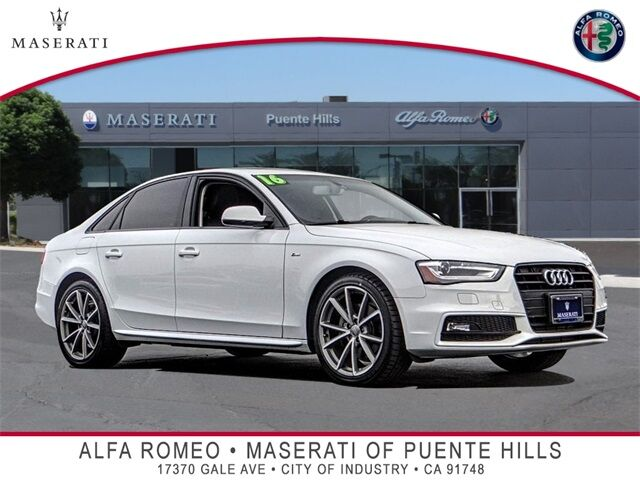 2016 Audi A4 2.0T Premium City of Industry CA