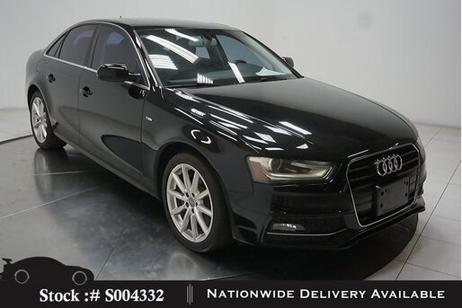 2016_Audi_A4_2.0T Premium SUNROOF,HTD STS,18IN WLS,HID LIGHTS_ Plano TX