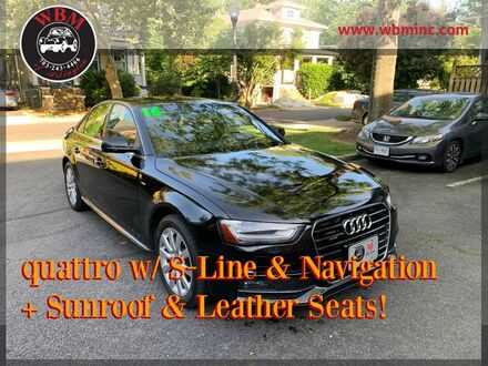 2016_Audi_A4_2.0T Premium w/ S-Line Package_ Arlington VA