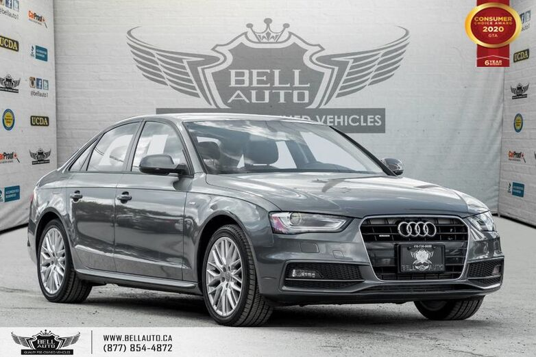 2016 Audi A4 Komfort plus, AWD, SUNROOF, HEATED SEAT, BLUETOOTH Toronto ON