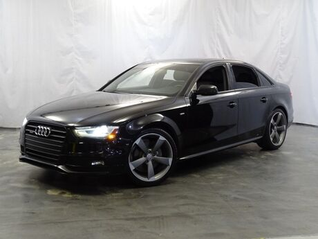2016 Audi A4 Premium Plus / Sport PLUS Package / Technology Package / High-Gloss Package / Shift Paddles / Sport Suspension / Sport Front Seats / Bang & Olufsen Sound System / 19inch Wheels Addison IL