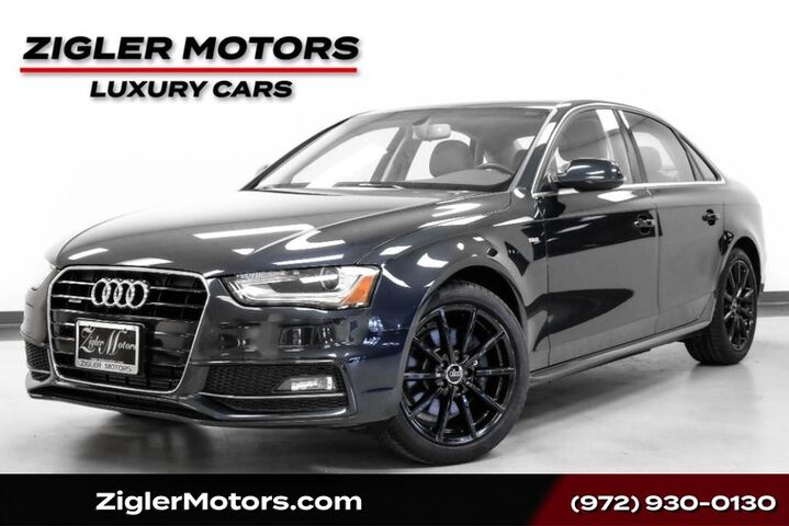 2016 Audi A4 Premium Quattro S Line Low Miles, One Owner Factory Warranty Addison TX