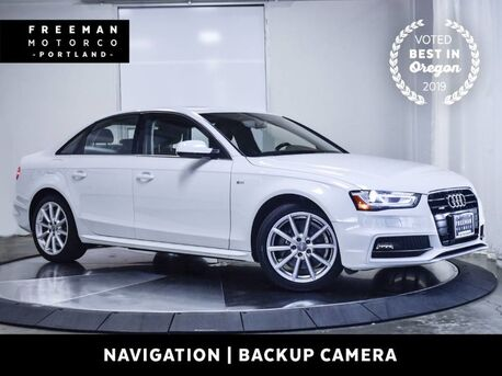 2016_Audi_A4_quattro Premium Plus Nav Blind Spt Asst Back-Up Cam_ Portland OR