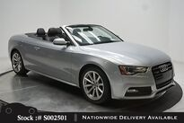 Audi A5 2.0T Premium Convertible HTD STS,18IN W,HID LIGHTS 2016