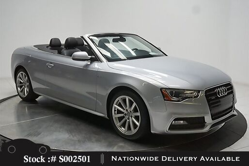 2016_Audi_A5_2.0T Premium Convertible HTD STS,18IN W,HID LIGHTS_ Plano TX
