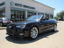 2016_Audi_A5_2.0T Premium Plus Cabriolet quattro,*** MSRP $55,400, Technology Package, Premium Plus Package_ Plano TX