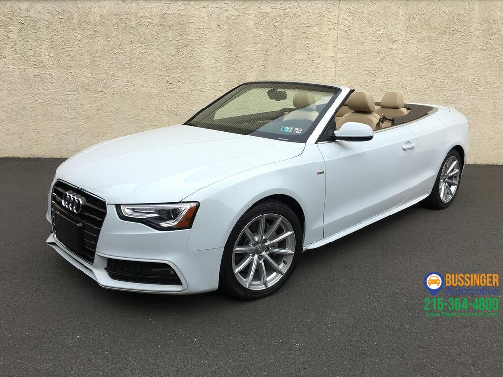2016 Audi A5 Premium Plus - Cabriolet - All Wheel Drive Feasterville PA