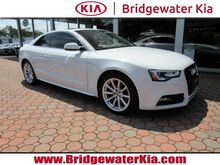 2016_Audi_A5_Premium Plus Quattro Coupe, Technology Package, Navigation, Rear-View Camera, Audi Side Assist, Bluetooth Streaming Audio, B&O Premium Sound, Heated Leather Seats, Power Sunroof, 18-Inch Alloy Wheels,_ Bridgewater NJ