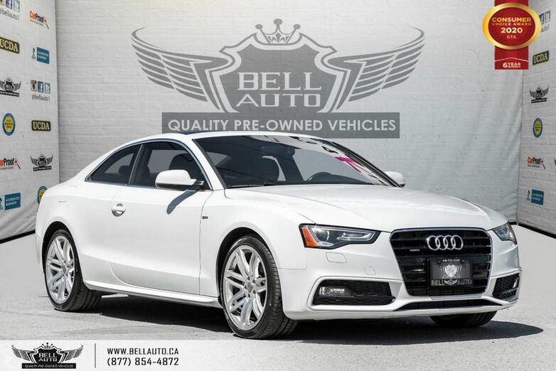 2016 Audi A5 Progressiv plus, COUPE, S-LINE, NO ACCIDENT, AWD, NAVI Toronto ON