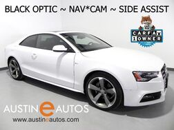 2016_Audi_A5 Quattro 2.0T Premium Plus_*BLACK OPTIC & SPORT PLUS PKGS, NAVIGATION, SIDE ASSIST, BANG & OLUFSEN, BACKUP-CAMERA, ADVANCED KEY, MOONROOF, HEATED SEATS_ Round Rock TX
