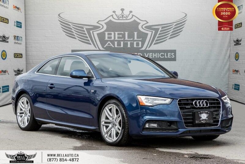 2016 Audi A5 Technik plus, AWD, S-LINE, NO ACCIDENT, NAVI, REAR CAM, B.SPOT Toronto ON